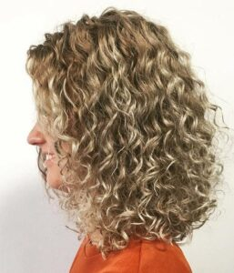 Spiral Perm Medium Hair