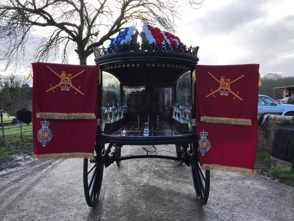 a48e13ee veteran horse drawn drapes